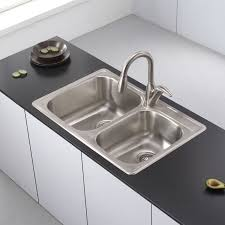 Faucetcom KTM In Stainless Steel By Kraus - Kitchen sink brand reviews