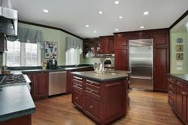 best kitchen paint colors with cherry cabinets all about house