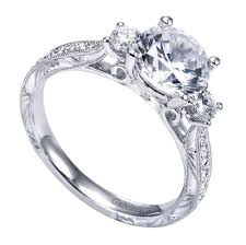carved engagement rings 14k white gold 3 carved engagement ring wedding day diamonds