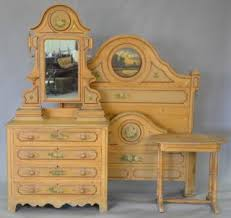 Cottage Pine Furniture by Victorian Cottage Pine Three Piece Bedroom Set With Original Paint