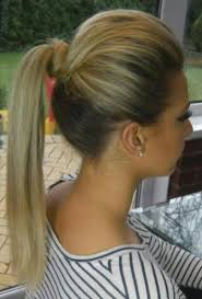 ponytail bump ponytails with a bump proper hair forlearner right hs