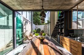 modern mexican kitchen natural daylighting inhabitat green design innovation