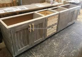 Pallet Kitchen Furniture Wooden Pallet Kitchen Cabinets Savae Org