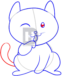 how to draw a cat for kids step by step drawing guide by