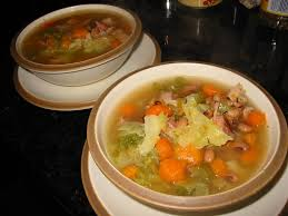 boston chef smoked turkey cabbage and black eyed pea soup