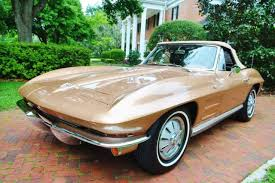 corvette stingray 64 64 chevycorvette convertible 327 v8 m21 4 speed original saddle