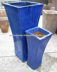 Cheap Tall Planters by Wholesale Tall Tapered Square Planters Outdoor Glazed Pots