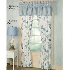 window treatments beach theme by the sea blue window