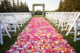 wedding aisle ideas 2018 wedding aisle décor trends front range event rental