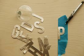 diy monogram etched ornaments alyssa and carla