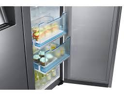 Samsung Cabinet Depth Refrigerator Food Showcase Refrigerator Side By Side 636 L Rh57h90507f Sa