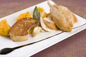 cuisiner patate douce poele recette de volaille de noël foie gras poêlé et purée de patates