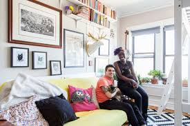 a new york couple on what it u0027s really like to share a 420 square