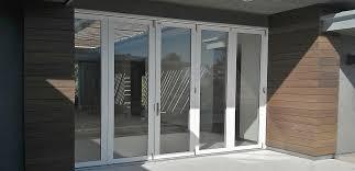 Folding Sliding Patio Doors Bifold Doors And Folding Doors Exclusive Hybrid Doors By Win Dor