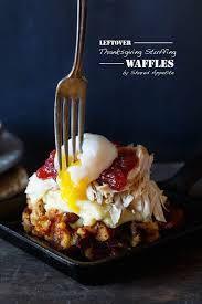 leftover thanksgiving waffles shared appetite