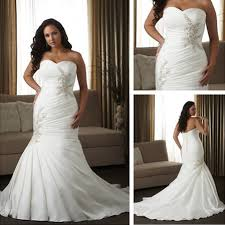 wedding dresses for larger dresses for the larger
