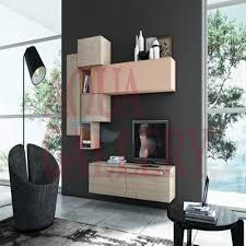 modern fashionable black european style wall mounted tv cabinet