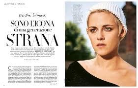 kristen stewart for grazia magazine italy november 2017