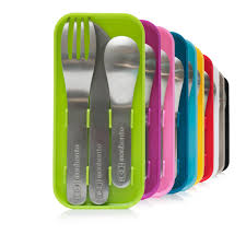 Cutlery Sets Monbento Cutlery Sets Light Blue Neeknaak