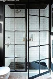 Industrial Bathroom Design Industrial Bathroom With Antique Brass - Bathroom window designs