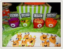 from the archives monster themed party food palmettos and pigtails