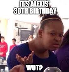 Alexis Meme - black girl wat meme imgflip