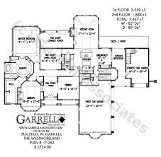and bathroom house plans westmoreland house plan house plans by garrell associates inc