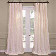 get alexandria off white taffeta faux silk curtains