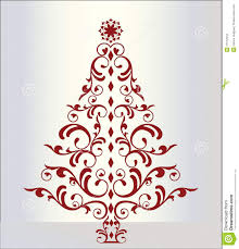 elegant christmas tree clipart clipartxtras