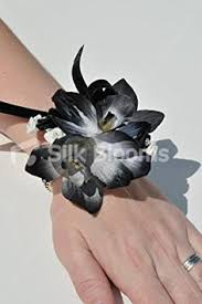 black and white corsage cheap white orchid corsage find white orchid corsage deals on