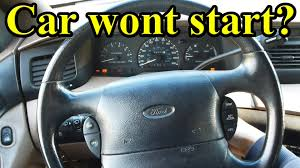 car wont start but lights come on what to do if your car won t start youtube