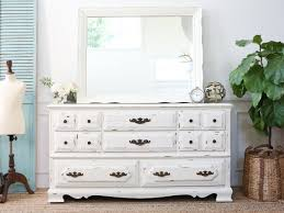 Shabby Chic Credenza by Vintage Shabby Chic Dresser Credenza With Mirror In White No146