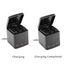 charging box telesin 3way led battery charger charging box carry case and 3
