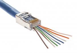 rj45 cat5e u0026 cat6 easy wire screened plug platinum tools 100020