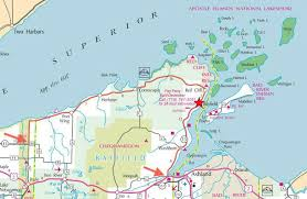 wisconsin scenic drives map bayfield chamber and visitor bureau bayfield peninsula home of