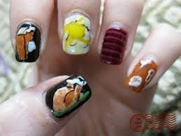 thanksgiving nail ideas the