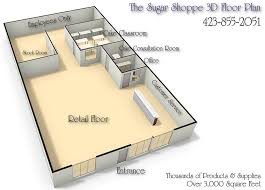 Bakery Floor Plan Design Home Design The Sugar Shoppe Chattanooga Tennesse Floor Plan