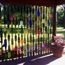 outdoor decorating ideas 19 sustainable diy wine bottle outdoor decorating ideas