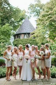 romantic peach and gold wedding bridal musings wedding blog