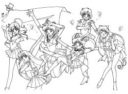 elegant sailor moon coloring pages 50 on free colouring pages with