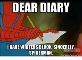 Spiderman Meme Generator - 25 best memes about writer s block writer s block memes