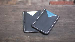 making a leather card holder free pdf template makesupply