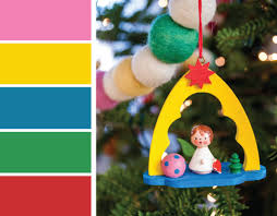german christmas ornaments christmas color palette inspiration wooden german ornaments