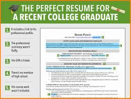 Recent College Grad Resume 8 College Student Resume Adgenda Template