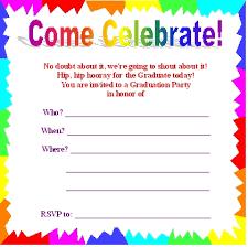 graduation party invitation free template u2013 orderecigsjuice info