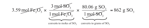 mole mass and mass mass problems