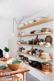 Kitchen Shelves Ideas Open Shelves Kitchen Design Ideas Webthuongmai Info