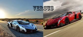 lamborghini veneno roadster lamborghini veneno roadster vs the original lamborghini veneno