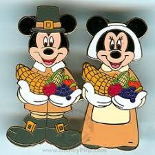 your wdw store disney thanksgiving pin mickey minnie pilgrims
