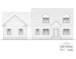 New Home Construction Plans by Four Seasons Contractors 252 462 0022 New Construction Homes